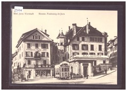 FORMAT 10x15cm - TRAMWAY DE BIENNE - BIEL - CARTE BVA REPRO ANNEES 70 - TRAIN - BAHN - No 33.5 - TB - BE Berne