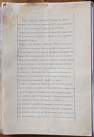 MARCHE DA BOLLO  MARCA CONSOLARE GRATUITA SU DOCUMENTO REGIO CONSOLATO D'OTALIA IN PARIGI 28 LUGLIO 1928 - Documenti Storici