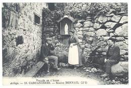 Cpa Vallée De L'Aude - Carcanières - Source Bonnail - Autres Communes
