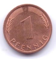 BRD 1992 J: 1 Pfennig, KM 105 - [ 7] 1949-… : RFA - Rep. Fed. Alemana
