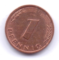 BRD 1993 F: 1 Pfennig, KM 105 - [ 7] 1949-… : RFA - Rep. Fed. Alemana