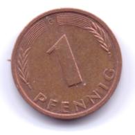 BRD 1993 G: 1 Pfennig, KM 105 - [ 7] 1949-… : RFA - Rep. Fed. Alemana