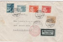 Autriche Lettre Par Avion Pour L'Angleterre 1934 - Covers & Documents