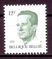 BELGIE * Nr 2113 P5 * Postfris Xx * GROENE GOM - 1981-1990 Velghe
