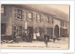 CPA 57 Hombourg Haut Maison Charles Bour Boulangerie Epicerie  Vins Et Liqueurs - Altri Comuni