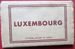 Luxembourg - Carnet De 10 CP - Elcé - Luxemburg - Stad
