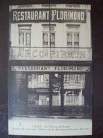 Carte  Façade De Commerce RESTAURANT FLORIMOND     -LILLE - Lille
