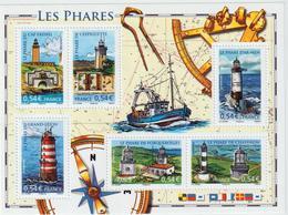 BLOC - 114  -   2007  -   Les Phares    -   Neuf   -    Non Plié  - - Blocs & Feuillets