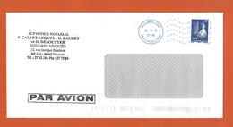 LETTRE NOUVELLE CALEDONIE Obl NOUMEA 2012  Theme CAGOU - Covers & Documents