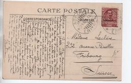 COLONIA ERITREA - 1913 - CP De ADI CAIE / ADI KAIE Pour FRIBOURG // CPA ABYSSINIE PILON POUR GRAINS OGNONS PIMENT - Eritrea