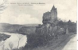 CPA - Montfort - Le Château - Vue De La Route De Carsac - Andere Gemeenten