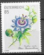 AUSTRIA, 2020, MNH, FLOWERS, BLUE PASSION FLOWER, SPECIAL STAMP, LOYALTY BONUS STAMP,  1v - Plants