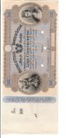 Banco Di Sicilia 500 Lire Fede Di Credito 27 04 1870  R5 RRRRR Spl/sup Lotto.3171 - [ 1] …-1946 : Royaume