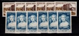 YV 873 & 874 N** En 6 Exemplaires Cote 10,80 Euros - France