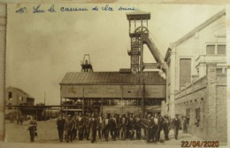 CHARBONNAGE     MINE    MINEUR     CARREAU   DE   LA   MINE - Mines