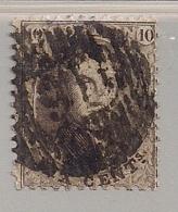 D16-BERTRIX -14A MET KEURMERK - OMGEKEERDE AFSTEMPELING--RRR !!!!! - 1863-1864 Médaillons (13/16)