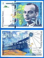 France 50 Francs 1994 Serie N Que Prix + Port Avion Bi Plan Saint Exupery Frcs Frc Paypal Bitcoin OK - 1992-2000 Last Series