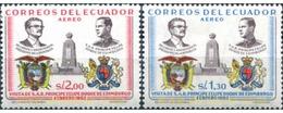 Ref. 309165 * MNH * - ECUADOR. 1962. VISIT OF THE PRINCE OF EDIMBURG . VISITA DEL PRINCIPE FELIPE DE EDIMBURGO - Ecuador