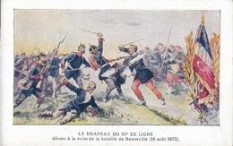 Le Drapeau Du 57e De Ligne - Décoré à La Suite De La Bataille De Rezonville (16 Août 1870) - Other Wars