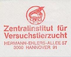 Meter Cut Germany 1986 Laboratory Animals - Mouse - Rat - Santé