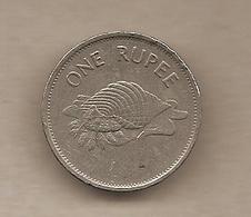 Seychelles - Moneta Circolata Da 1 Rupia - 1992 - Seychelles