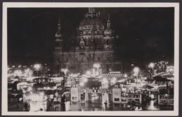 Berlin, Weihnachtsmarkt 1937, Fotokarte Mit Pass. Sst. - Mitte