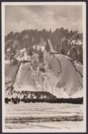 Garmisch-Partenkirchen, Olympiaschanze, Fotokarte, 1936, Mit Pass. Sst. Gelaufen - Garmisch-Partenkirchen