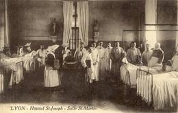 69)     LYON    -  Hôpital  St.   Joseph    -   Salle St. Martin - Lyon 7