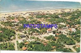 132635 ARGENTINA VILLA GESELL VISTA AEREA BREAK POSTAL POSTCARD - Belize