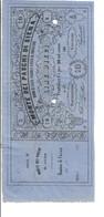 10 LIRE BUONO DI CASSA MONTE DEI PASCHI DI SIENA MATRICE NON EMESSO 186 Asta 3173 - Biglietti Consorziale