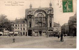 Lille : Place Vanhaker Et Théâtre - Lille