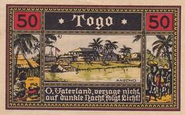 NOTGELD. 50 PFG, TOGO TICKET. ANECHO HEINBERG. -LILHU - Togo