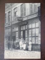 Carte  Façade De Commerce Hotel Restaurant D'amsterdam  MAISON BERA     -LILLE - Lille