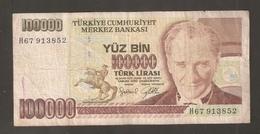 TURCHIA 10000 Lire 1970 - Turchia
