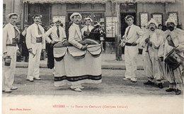 BEZIERS - 2 CPA - La Danse Des Treilles - La Danse Du Chevalet (Coutume Locale) (202 ASO) - Beziers