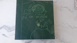 Album Des Timbres Du Monde H Thiaude Avec Très Peu De Timbres ; Très Bon état. - Reliures Et Feuilles