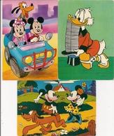 Lot De 3 CPM  Walt Disney -  PICSOU, MINNIE - Autres