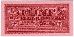 GERMANY , 5 REICHSPFENNIG 192 , KM 33 ,UNC - [10] Emisiones Militares