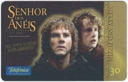 BRASIL K-620 Magnetic Telefonica - Cinema, Lord Of The Rings - Used - Brésil