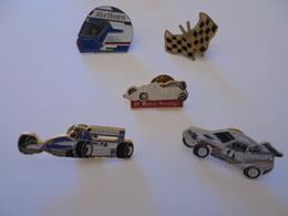 LOT 5 PIN'S THEME SPORT AUTOMOBILE - Pin's