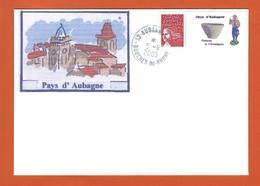 LETTRE FRANCE 3729A TIMBRE PERSONNALISE THEME AUBAGNE SANTON CERAMIQUE - Personalized Stamps