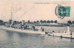 Cpa   Torpilleurs à Rochefort - Krieg