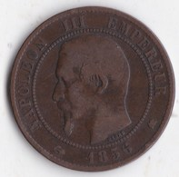 10 Centimes Napoleon III 1856 K Z 6 - D. 10 Centesimi