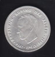 MONEDA DE PLATA DE BELGICA DE 250 FRANCOS DEL AÑO 1976 (COIN) SILVER-ARGENT - 10. 250 Francs