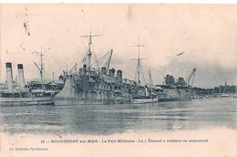 "Cpa   "" Davout"" Croiseur - Warships"