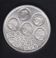MONEDA DE PLATA DE BELGICA DE 500 FRANCOS DEL AÑO 1980 (COIN) SILVER-ARGENT - 10. 250 Francs
