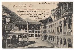 Cartolina-Postcard, Viaggiata (sent), Uskub, Skopje, Monastère Des Environs - Macédoine