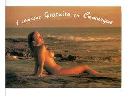 """CPM PUBLICITAIRE - CAMPING """" LES TOURRADES """" / BAR-SUR-AUBE - 3 Scans - Publicité"""