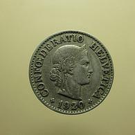 Switzerland 10 Rappen 1920 - Schweiz