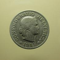 Switzerland 10 Rappen 1914 - Schweiz